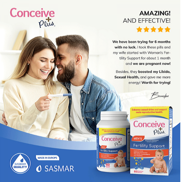 Przegląd Booster testosteronu Conceive Plus Men Fertility Support